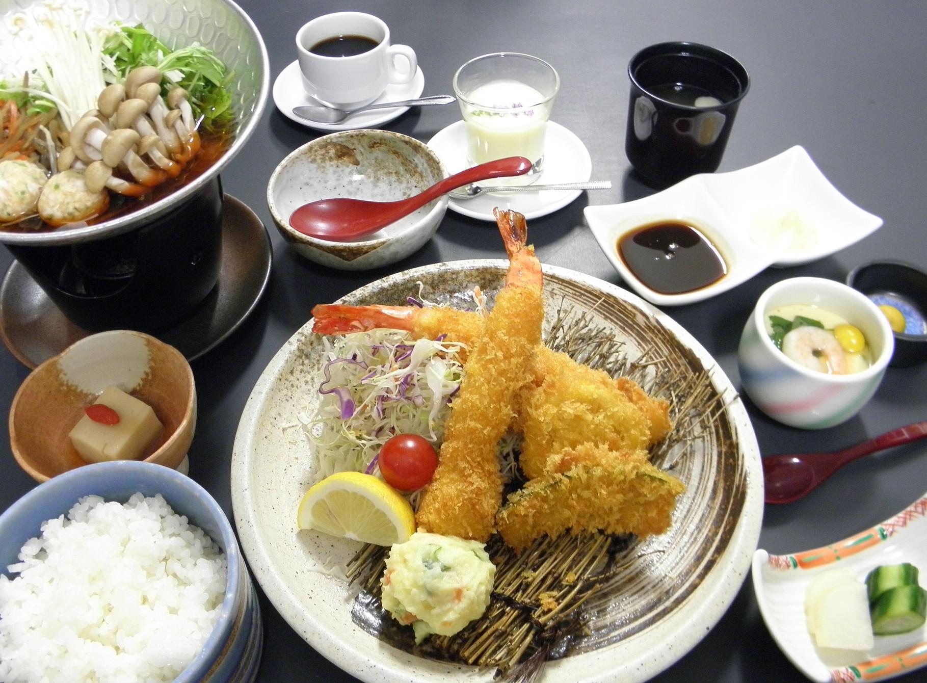 大海老フライ御膳 1,500円(税込)
