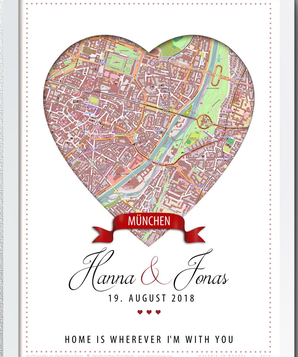 Städte Poster Individuell Einzigartig Memoarte Galerie Im