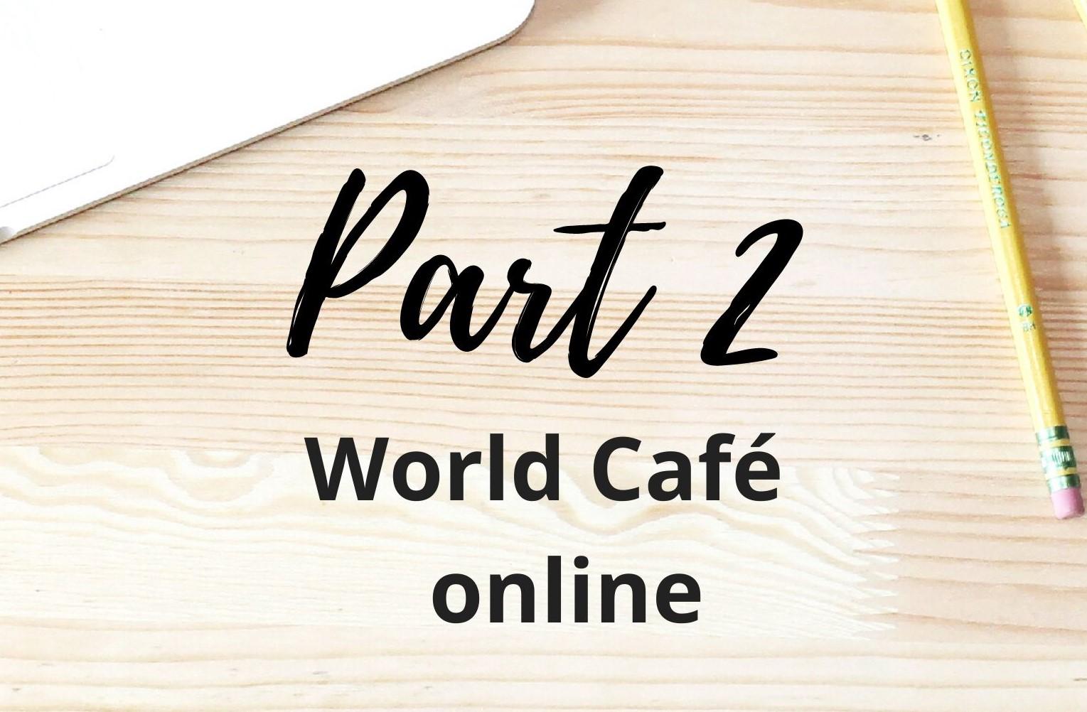 World Café Online Teil 2