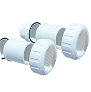 Connettori in PVC pompe di calore per piscine Nano Action