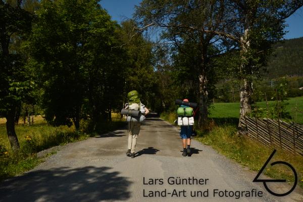 Wanderung bei Lillehammer