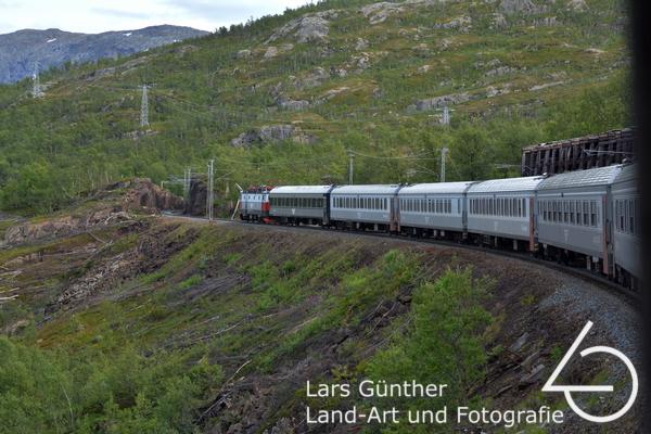 Bahnfart nach Narvik