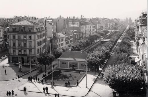 Zentralplatz/ Unterer Quai in früheren Zeiten