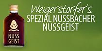 Weigerstorfer's Spezial Nussbacher Nussgeist