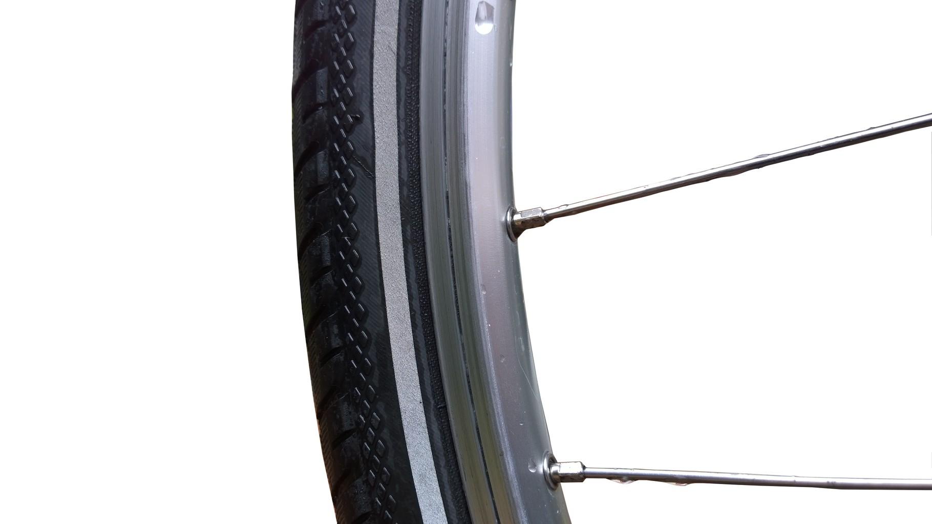 Reifen + Felge ohne Schmutz