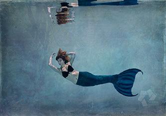 Mermaid Unterwaasserfotografie Weimar
