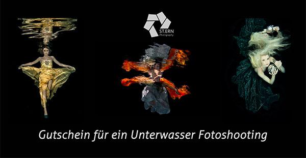 Gutschein Fotoshooting Porträt Unterwasser Babybauch Weimar Erfurt Thüringen
