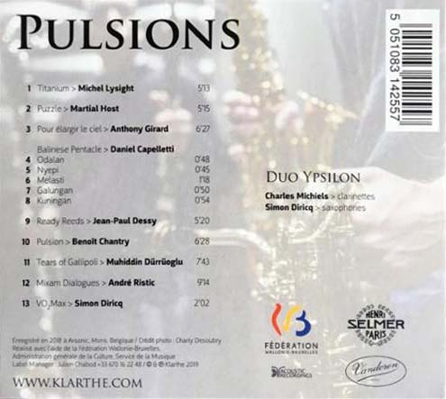 Puzzle de Martial HOST - CD Duo YSPILON