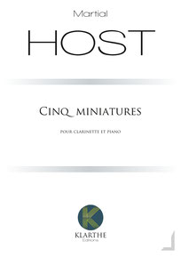 Cinq Miniatures de Martial HOST
