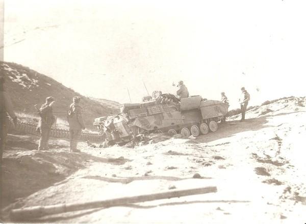 Подрвыв на противотанковой мине