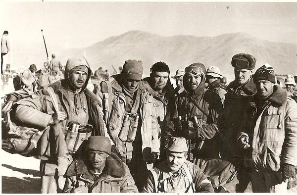Сергей Кибиткин на боевой операции