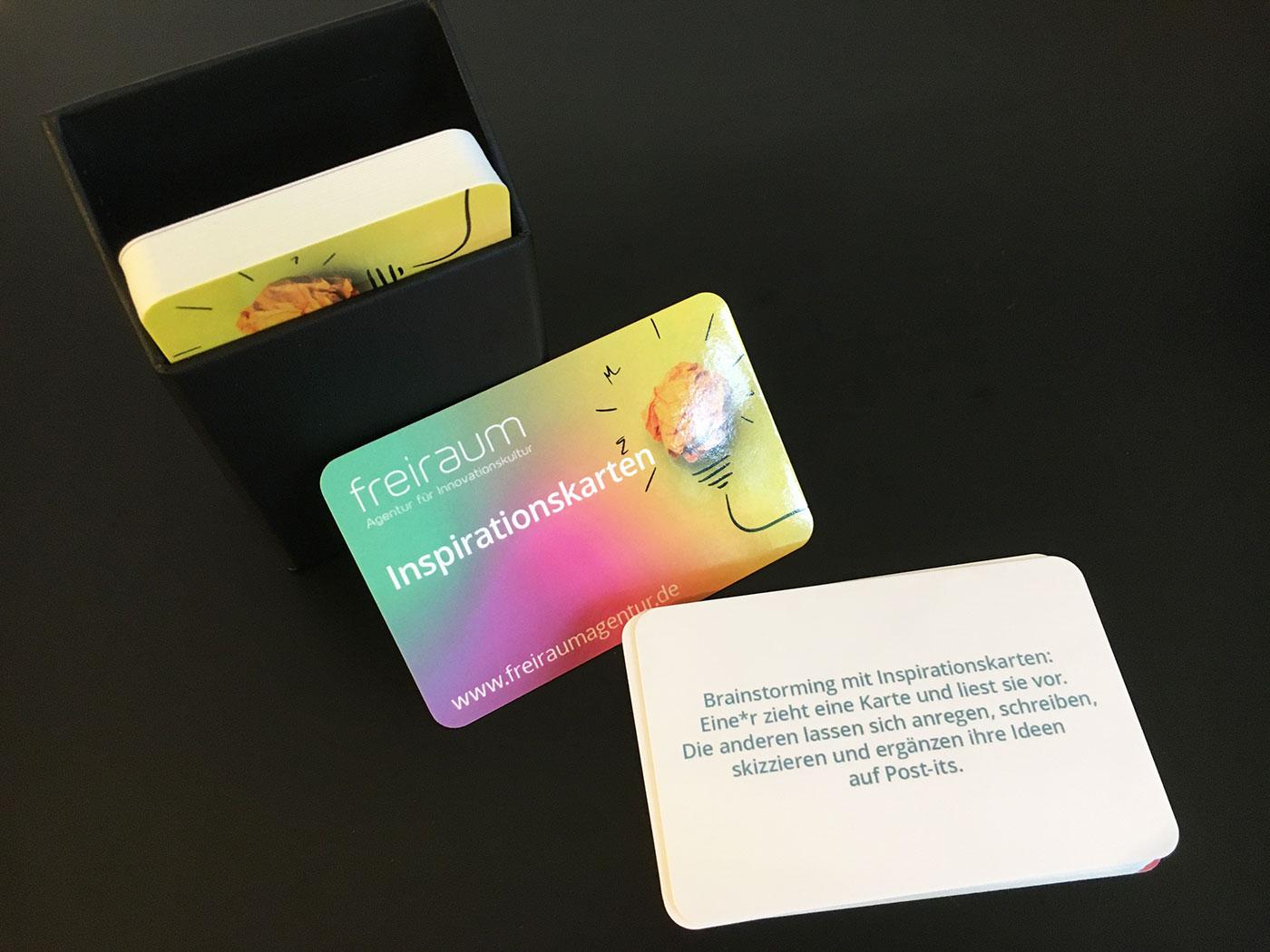 Inspirationskarten für neue Ideen! Ab sofort bei uns erhältlich.