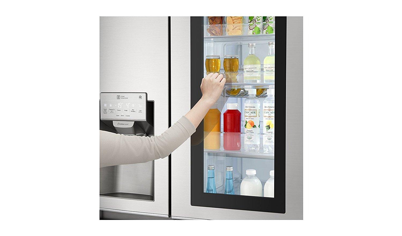 Side By Side Kühlschrank Glasfront : Der neue lg instaview kühlschrank go innovation