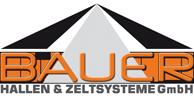 Logo Bauer Hallen- und Zeltsysteme GmbH