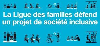 affiche de la ligue des familles