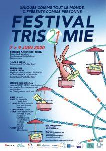 Affiche du Festival Trisomie 21