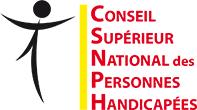 logo du Conseil Supérieur National des Personnes Handicapées