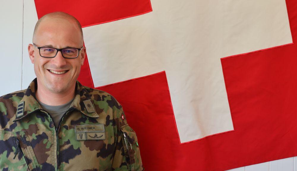 Oberst Hannes Urs Wiedmer