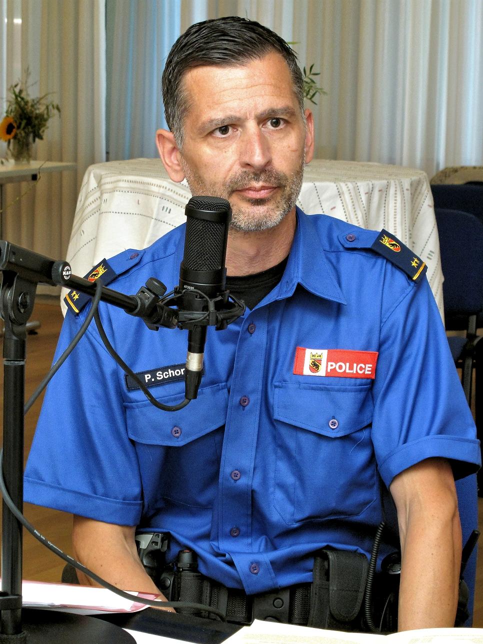 Pascal Schor - Dienstchef Prävention - Polizei