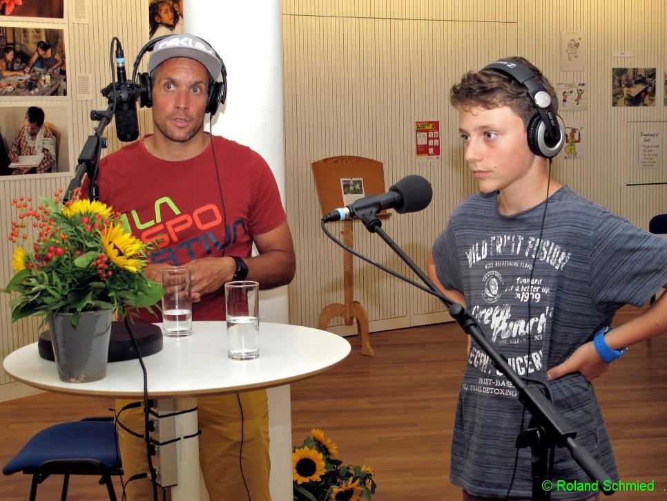 Roman und Lias Gugger, Radsportler