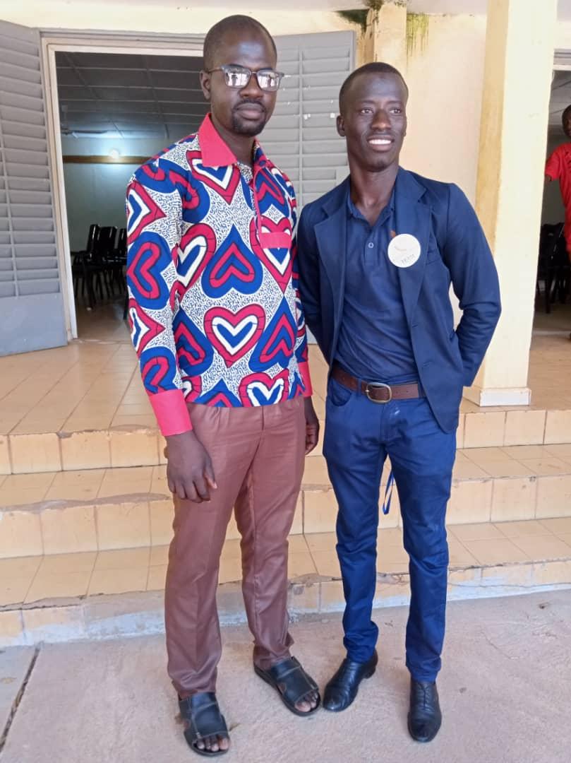 Souleymane und Illiance Lougué