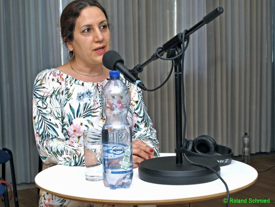Mahtab Aziztaemeh, Flüchtlingsparlament