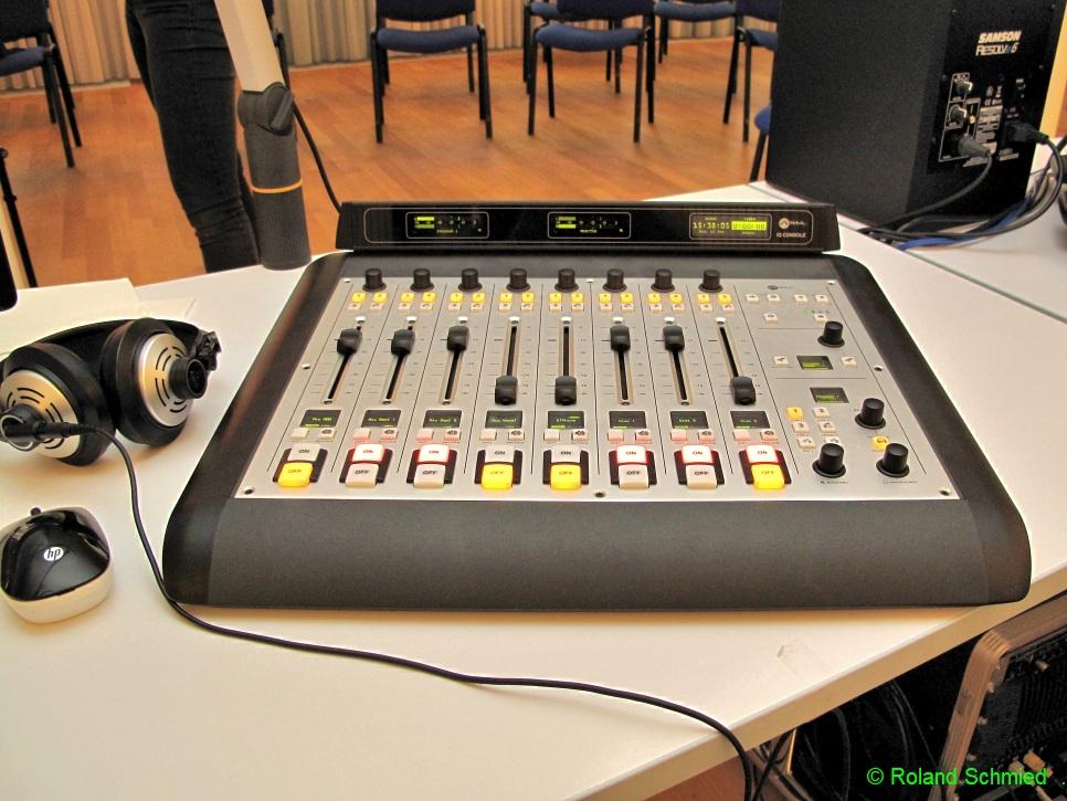 Unser Radiostudio