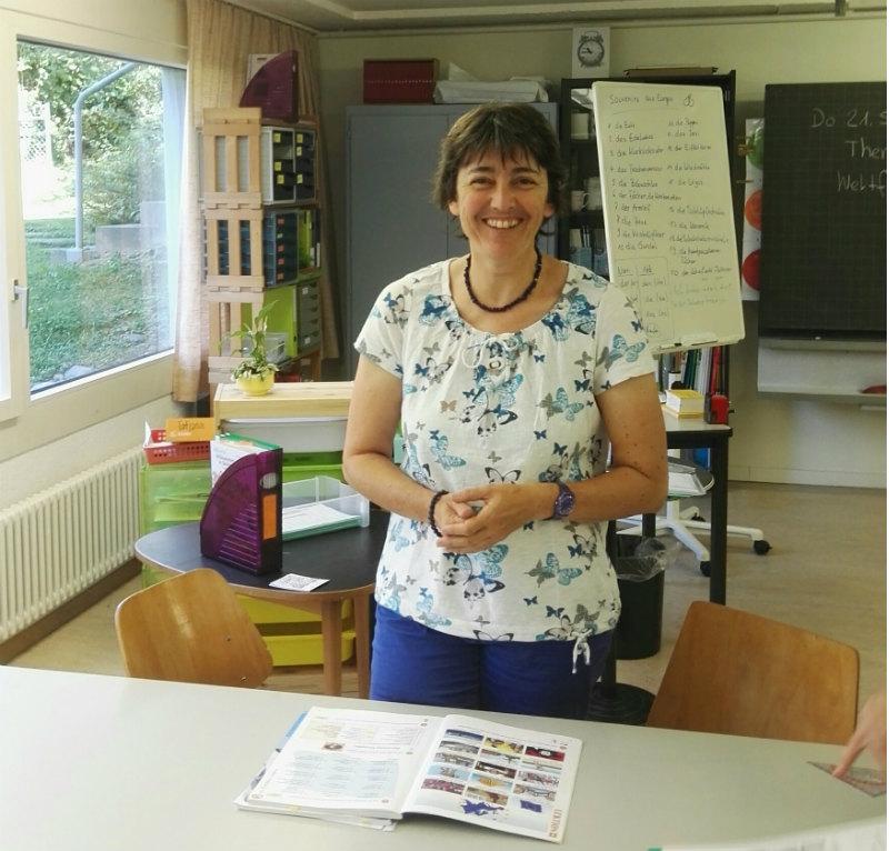 Lice Fürst, Lehrerin RIK