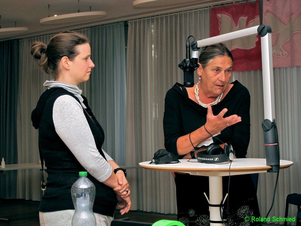 Ulla Boss und Valerie Aebersold