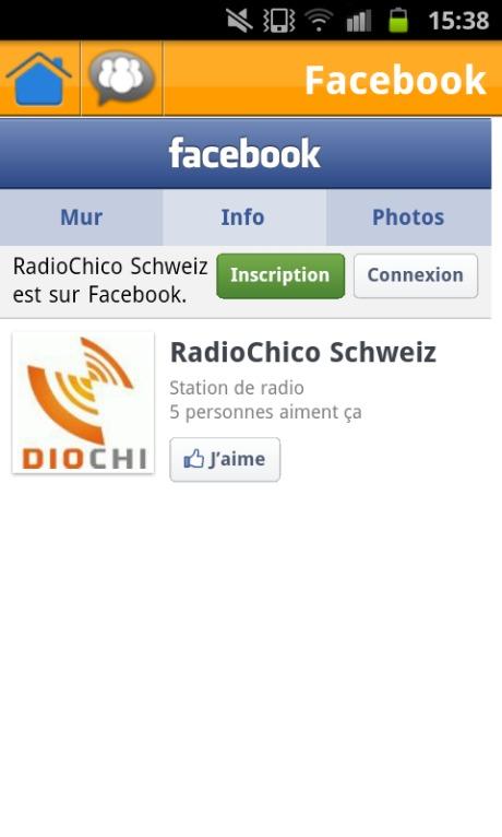 Aimez RadioChico sur FaceBook