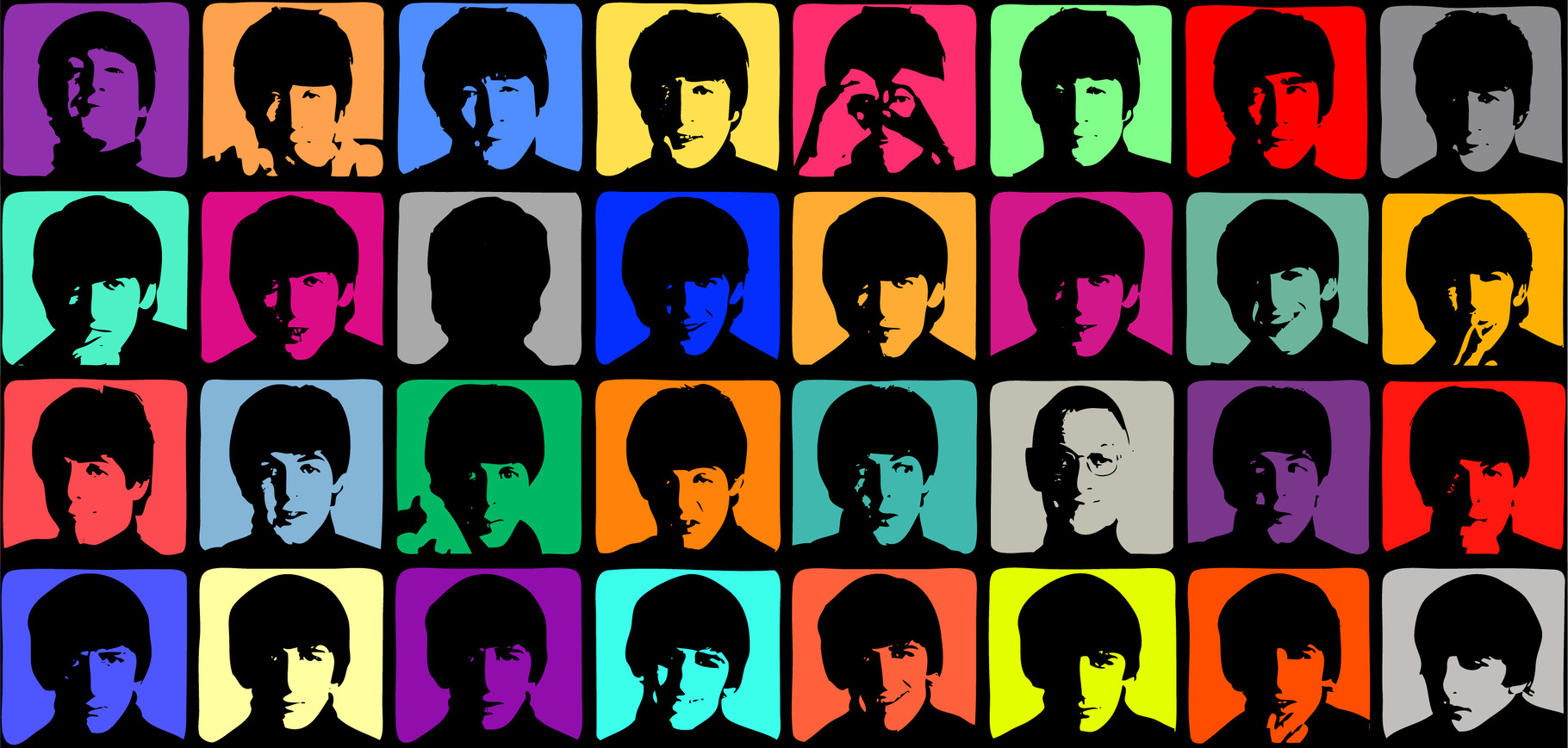 'The Beatles' von Andy Warhol