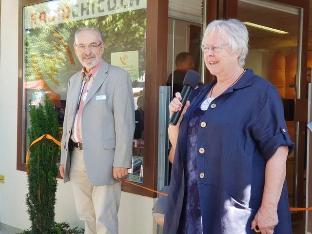 Alfons Hubmann und Annemarie Koch