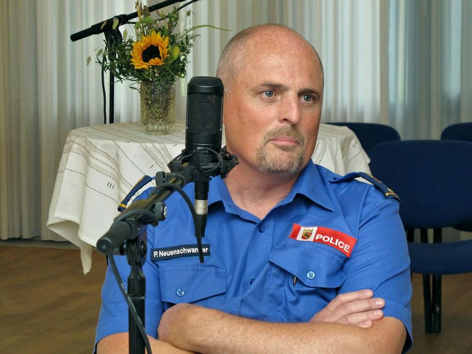 Philipp Neuenschwander, Bezirkschef Polizei Lyss