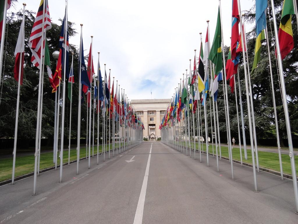 Entrée des Nations Unies - Genève