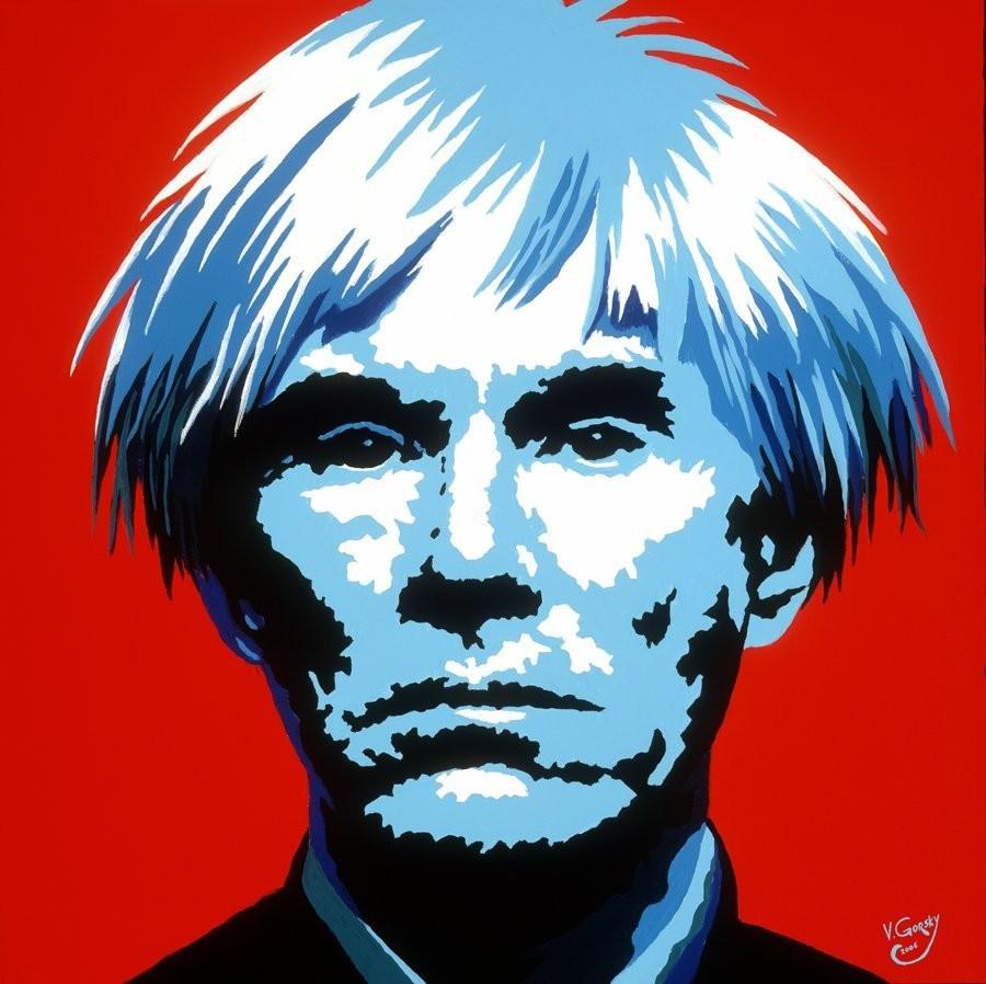 Selbstportät von Andy Warhol