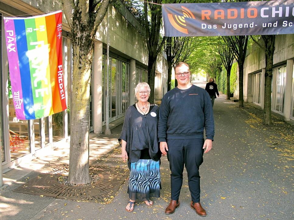 Annemarie und Matthias von RadioChico Schweiz