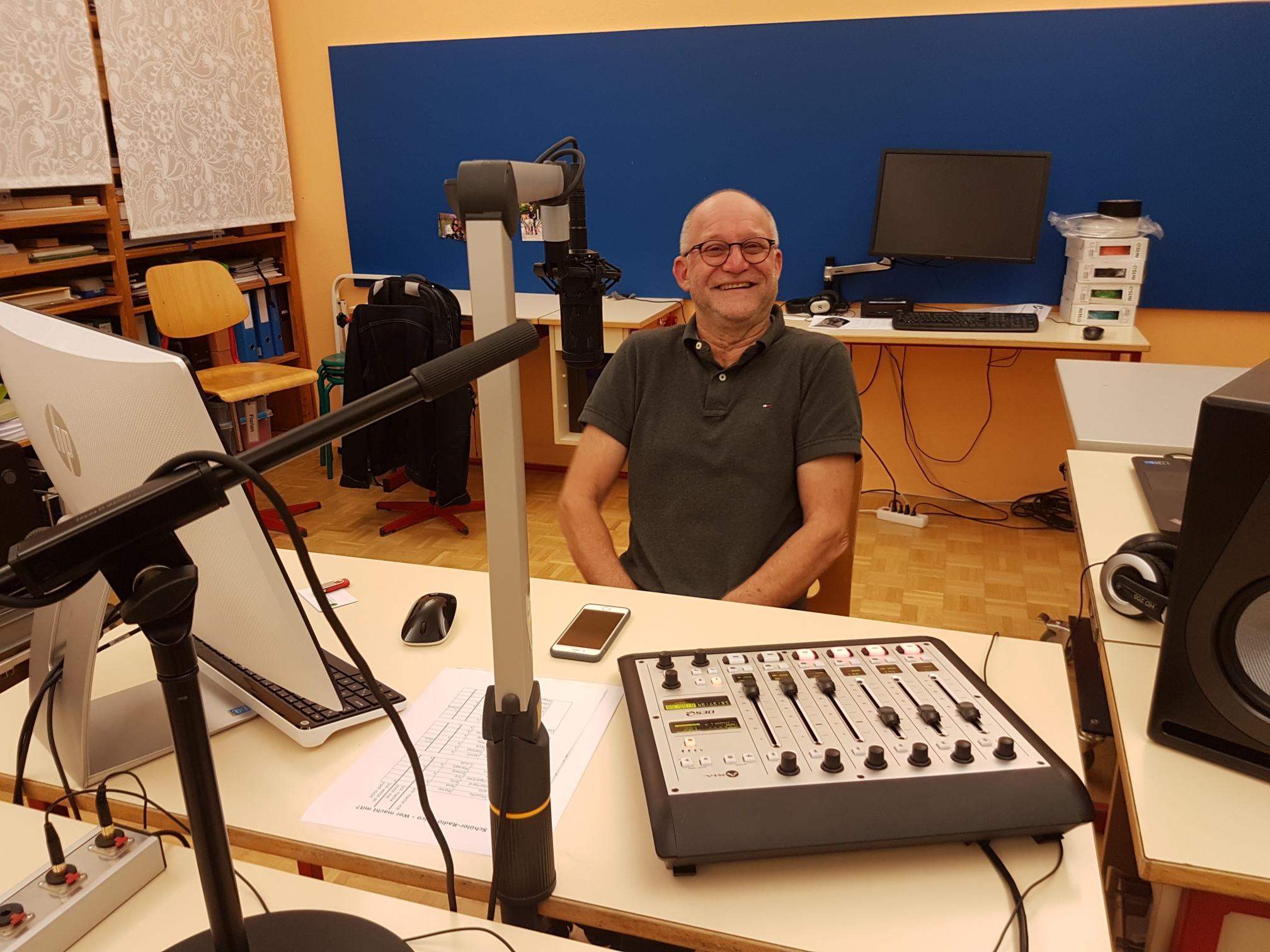 Walter Reinhard von Auris - geschafft - RadioChico ist startklar