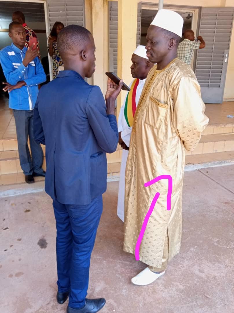 Präfekt Youssouf Bakary Traoré
