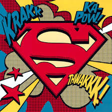 Pop Art Comic Superman