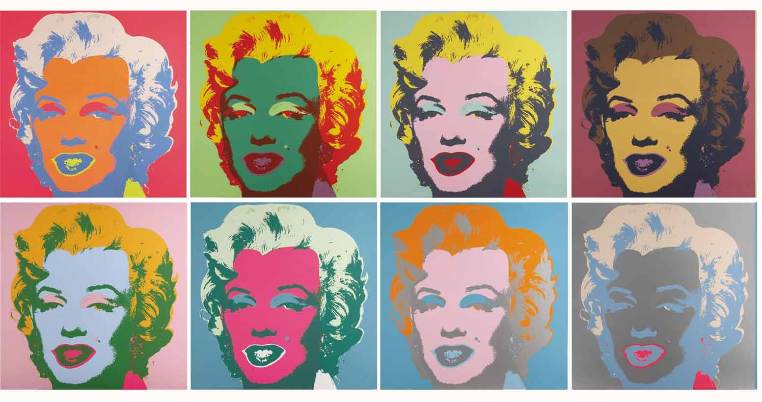 'Marylin Monroe' von Andy Warhol