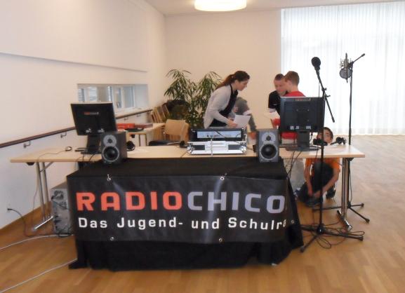 Radiostudio im APH Rüegsauschachen
