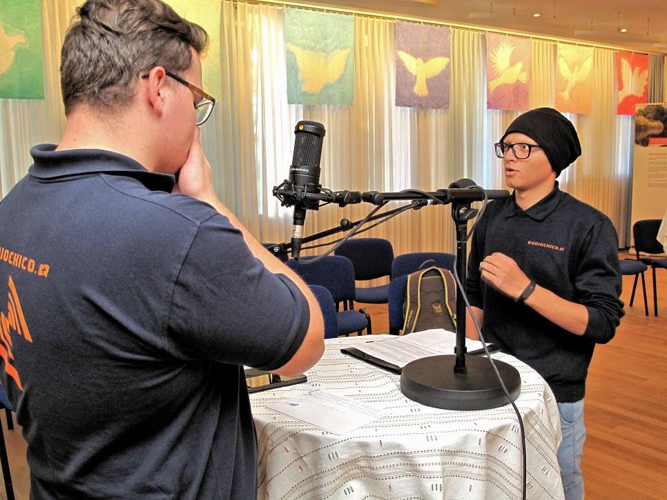 Sajad, 16 Jahre,  Freelancer Praktikant: 'Aus dem Chaos in Afghanistan zum Frieden...'