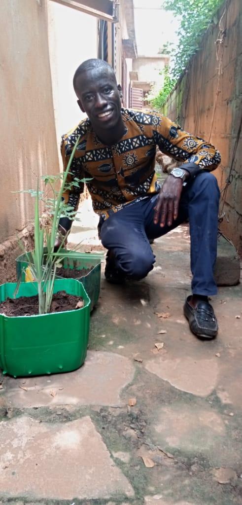 Auch Zitronengras wird angepflanzt