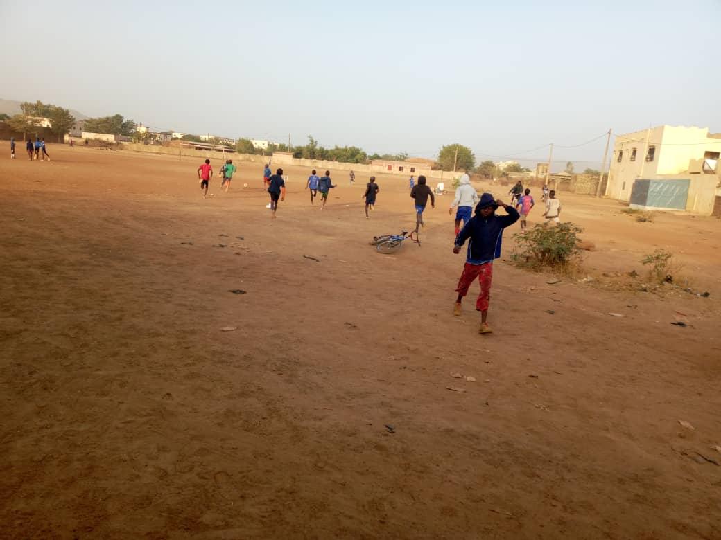 Beim Sportunterricht