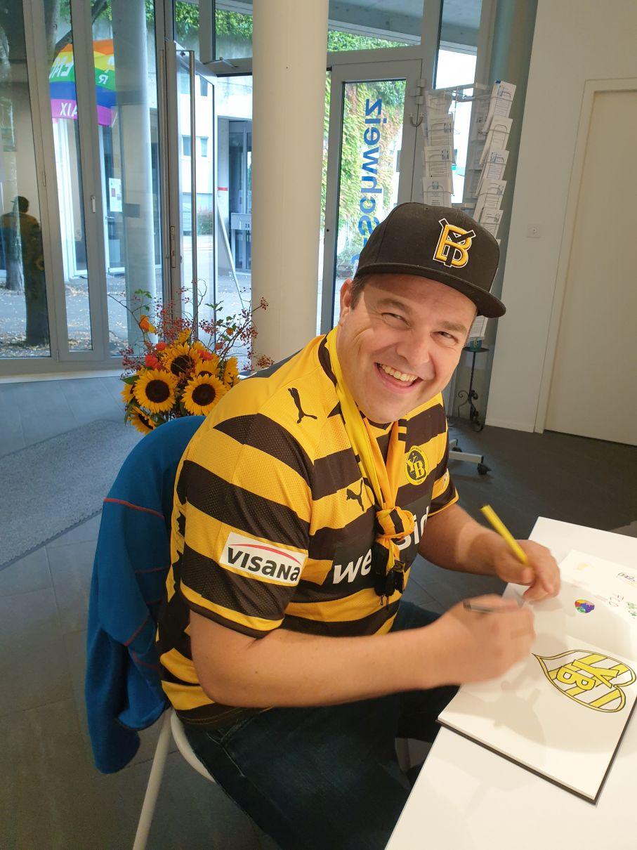 Bernhard Muhr, YB-Fan