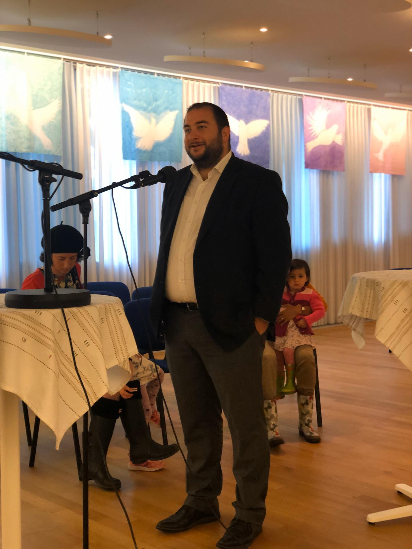 Rabbiner Michael Kohn - Haus der Religionen Bern