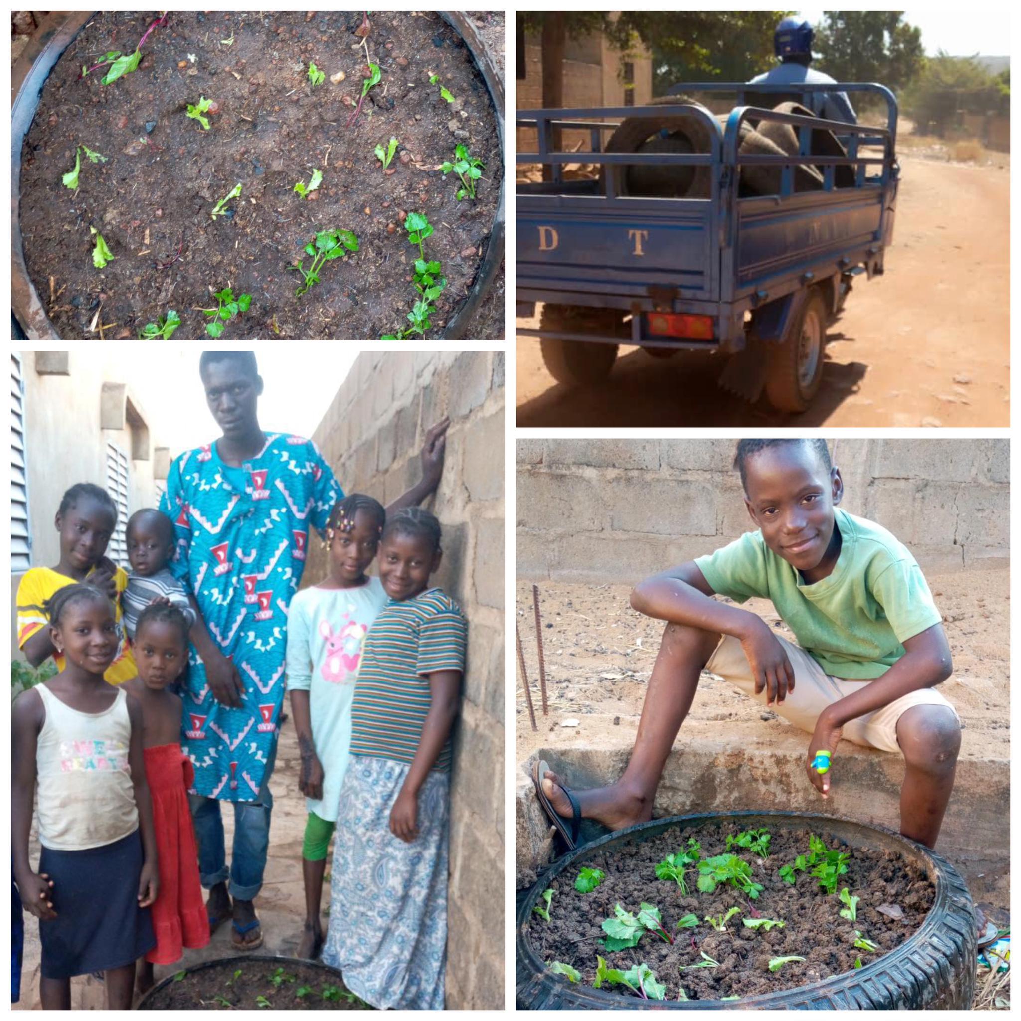 Das Team mit Gärtner