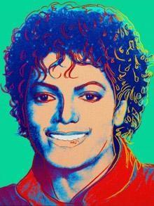 'Michael Jackson' von Andy Warhol