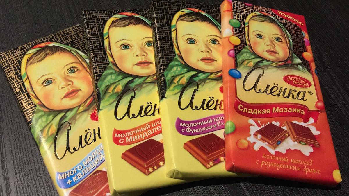 チョコ好きロシア人