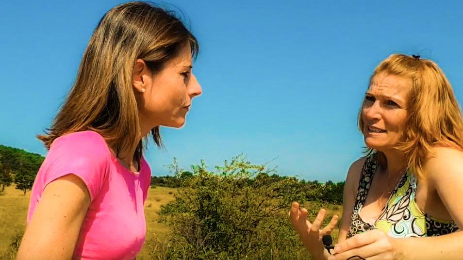 Ein Interview zugunsten der Frauenkrebshilfe